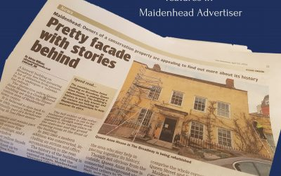 Queen Anne House featured in The Maidenhead Advertiser