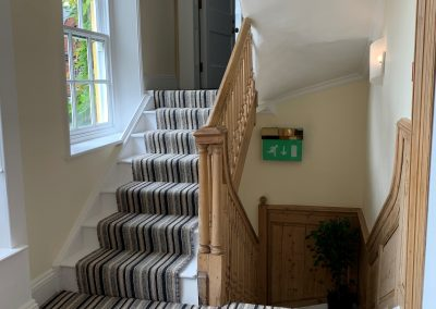 serviced offices in maidenhead stairway